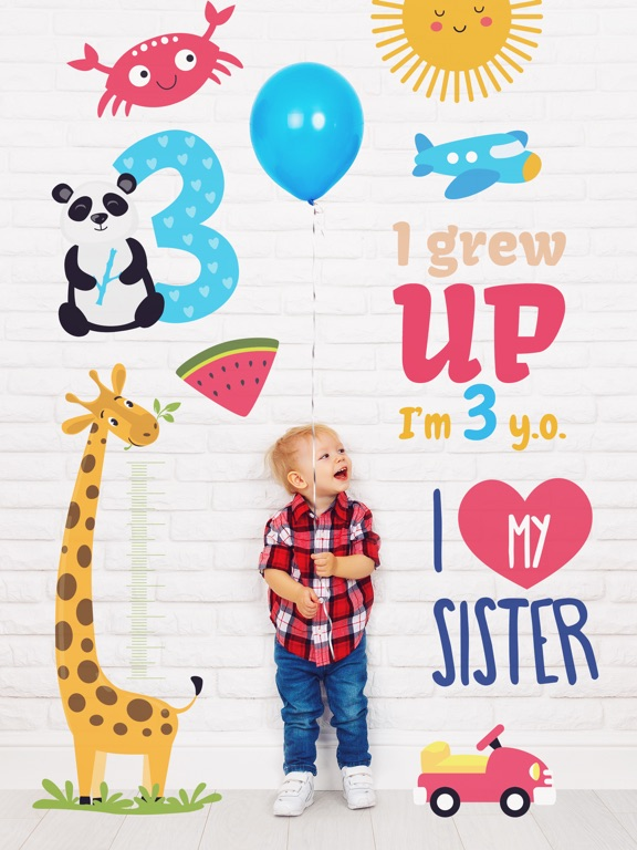 Lil Pics: Baby Milestones & Pregnancy Photo Editor Screenshots