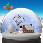 Cнежный глобус и снег icon