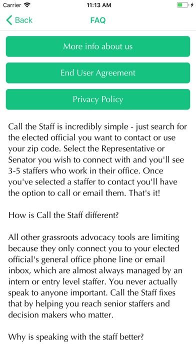 Call The Staff screenshot 4