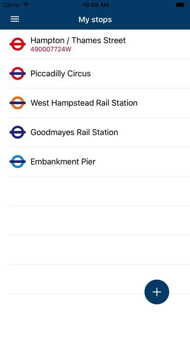 London Transport Live Times screenshot 1