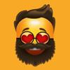 Diop Papa Cire - Beard Emoji Stickers  artwork