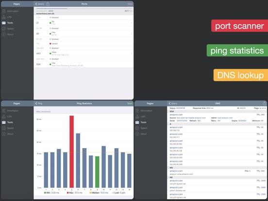 Network Analyzer - net tester Screenshots