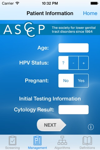 ASCCP Mobile screenshot 2