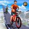 Incredible City Building Top Bicycle Ride