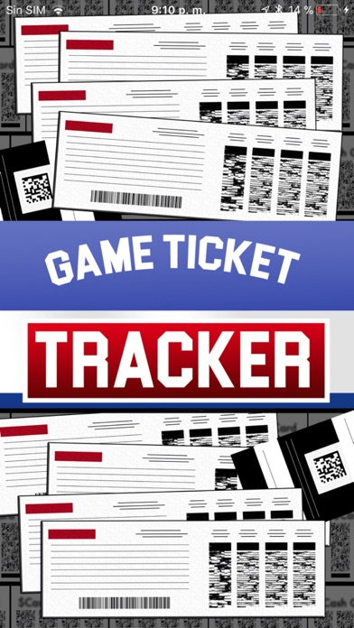 GAME TICKET TRACKER 2018 screenshot 1