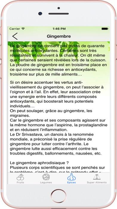 Aliments Santé Screenshots