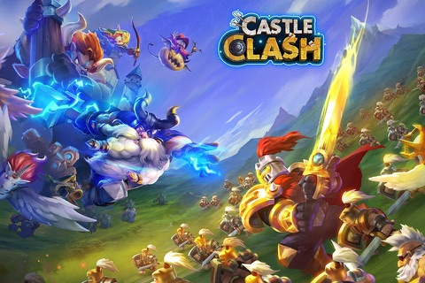 Castle Clash: Brave Squads screenshot 1