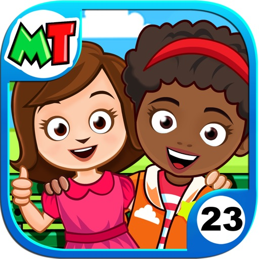 My Town : Best Friends' House app for ipad