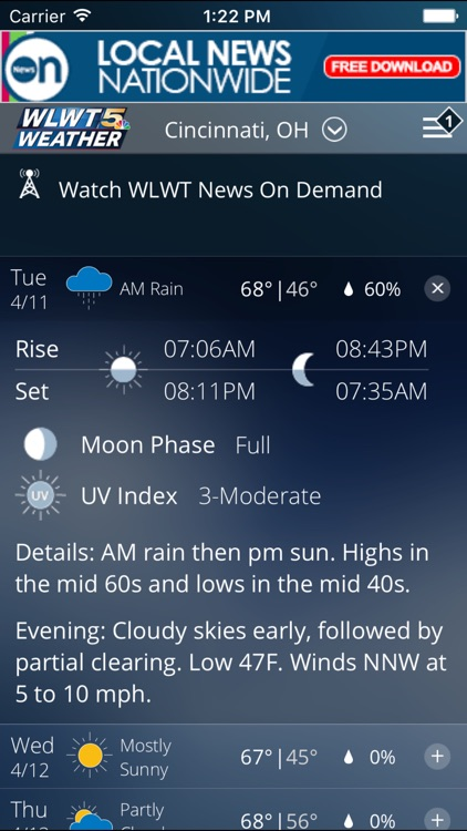Wlwt Weather By Hearst Television