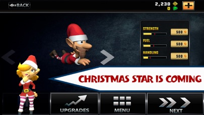 Flying Santa : Christmas Star Screenshot on iOS