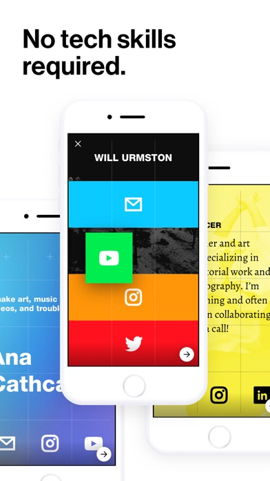 Screenshots of Universe — Website Builder for iPhone