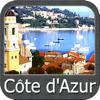 Côte d'Azur GPS Carte Nautique