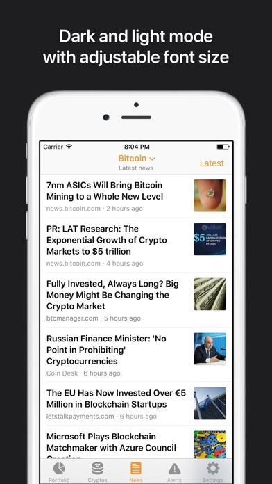 download Crypto Pro: Bitcoin Ticker apps 5