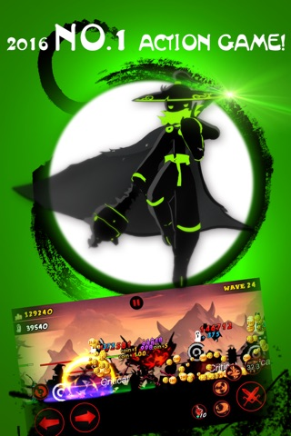 League of Stickman: Ninja screenshot 1
