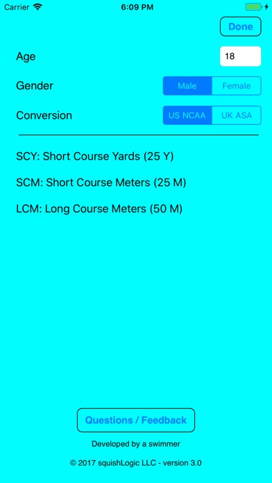 Swim Converter review screenshots