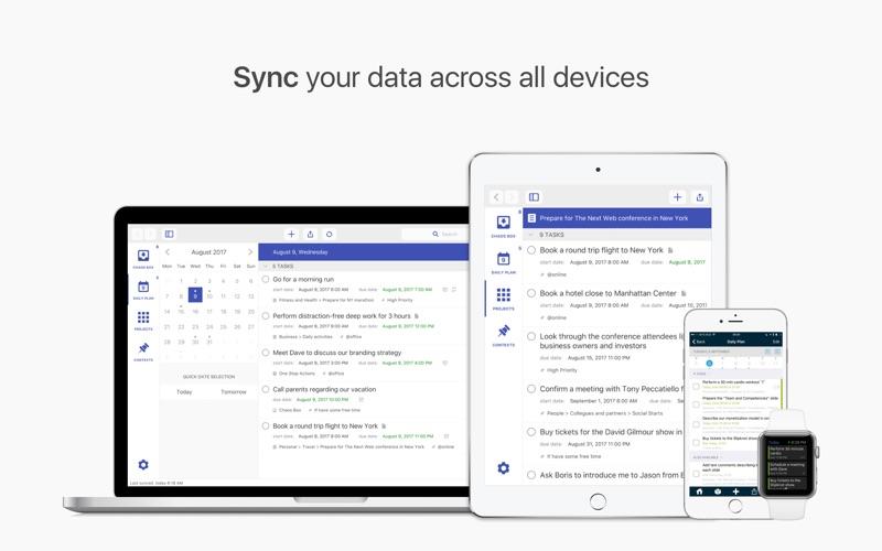 Chaos Control: GTD & Tasks Screenshots