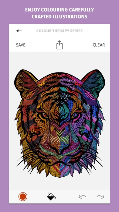 Colour Therapy An Adult Colouring Book On The App Store
