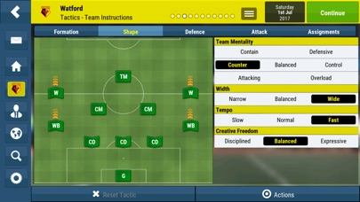 Football Manager Mobile 2018 screenshot 2