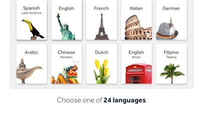 Rosetta Stone: Learn Language Screenshots