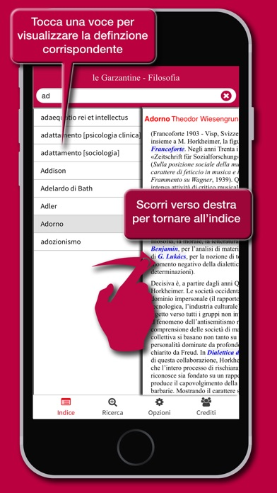 Screenshot of le Garzantine - Filosofia3
