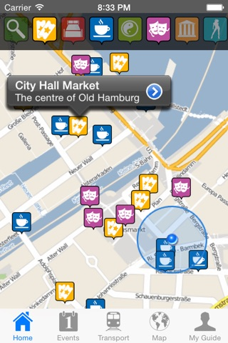 Hamburg Travel Guide Offline screenshot 1