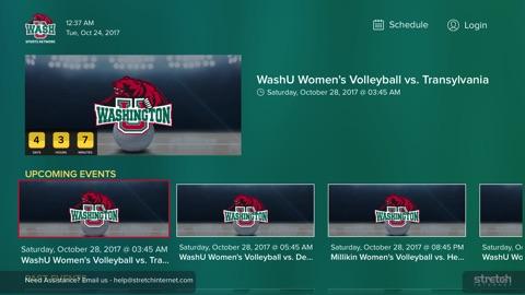 Screenshot #2 for WashU Sports Network