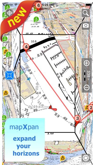 download Aqua Map Kansas Lakes GPS apps 3