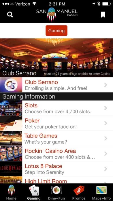 San Manuel Bingo Casino Hotel