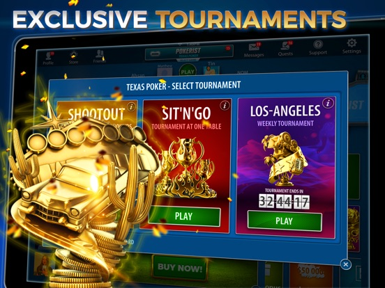 Pokerist Pro: Texas Holdem Poker Screenshots