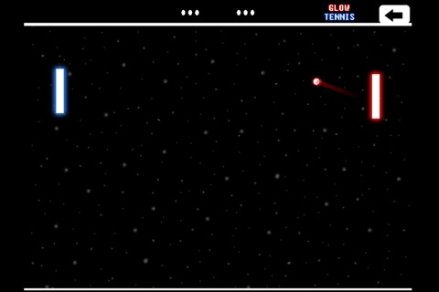 Glow Tennis screenshot 2