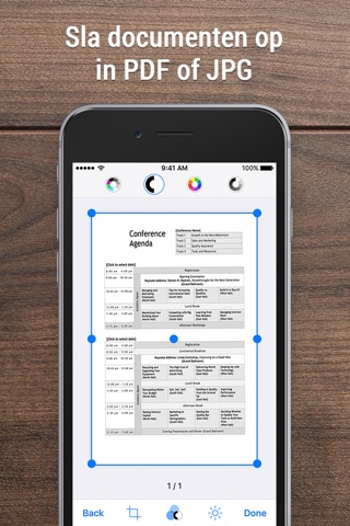 iScanner - PDF Scanner App. screenshot 2