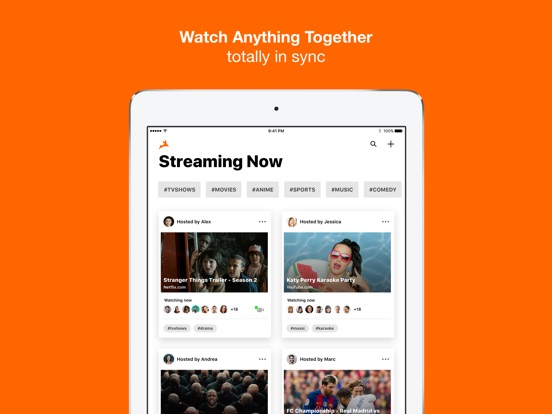 Rabbit – Watch Together Screenshot