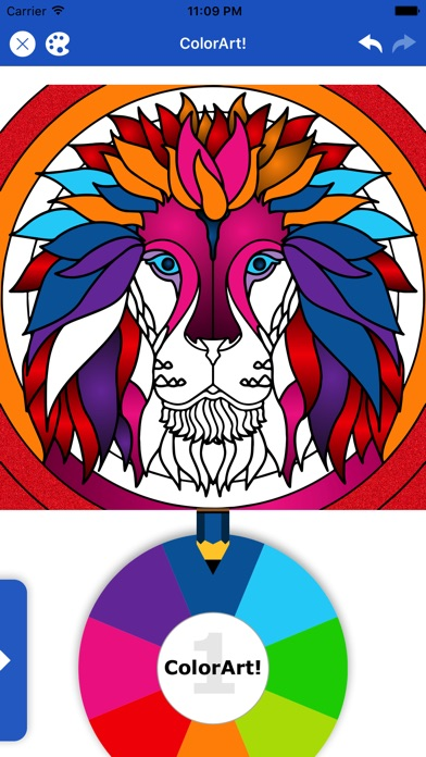 Color Art: Relax Coloring Book screenshot 1