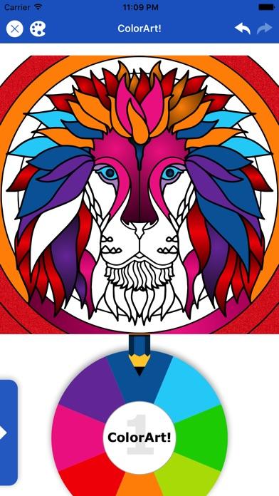 Color Art: Relax Coloring Book screenshot 1
