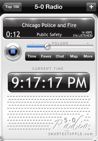 5-0 Radio Pro Police Scanner screenshot 4