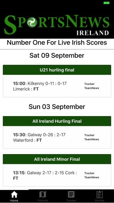 SportsNews Ireland screenshot 1