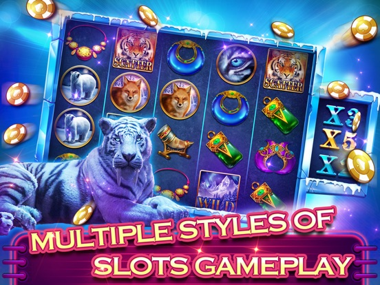 Screenshots of Clash Slots - Best & New Slots for iPad