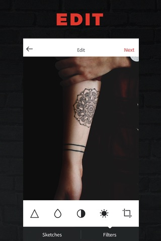 INKHUNTER Try Tattoo Designs screenshot 3