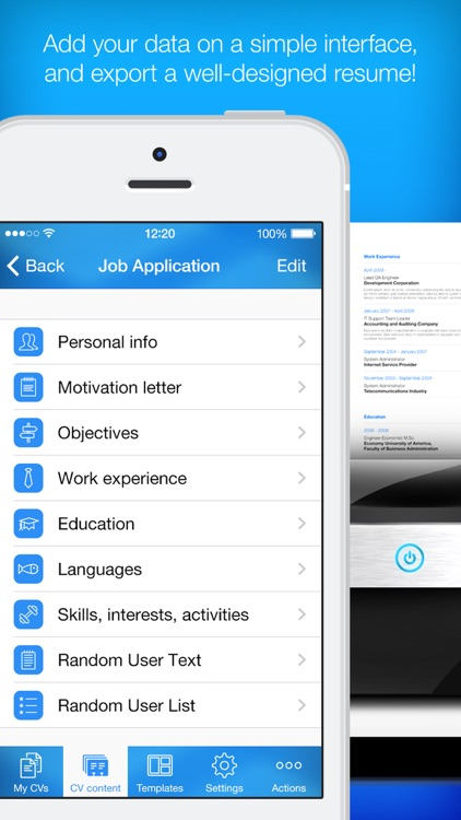 resume builder resume maker