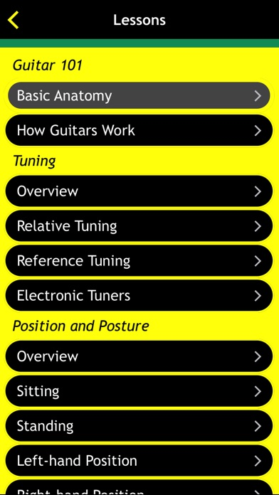 Guitar Basics For Dummies Screenshots