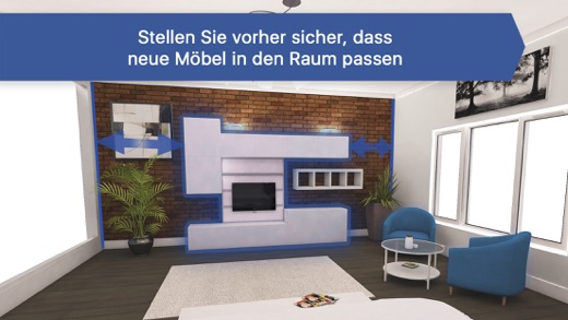 raumplaner 3d f r ikea im app store. Black Bedroom Furniture Sets. Home Design Ideas