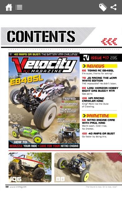 Velocity Rc Cars Magazine review screenshots