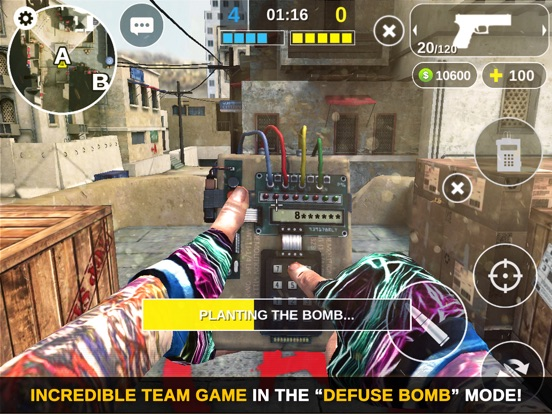 Counter Attack Multiplayer FPS для iPad