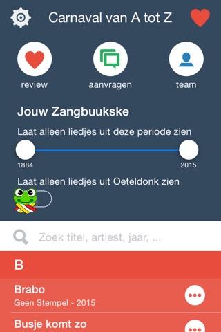 Zangbuukske for Carnaval screenshot 2