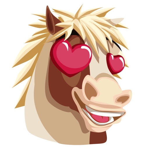 HorseMoji+ app for iphone