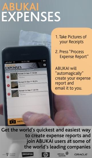 Screenshot von ABUKAI Rechnungen, Kosten1
