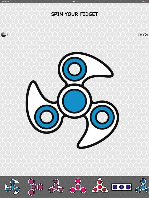 Screenshot #1 for Fidget Spinner App & Stickers