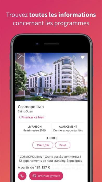Seloger neuf immobilier neuf dans l app store for Se loger immo neuf