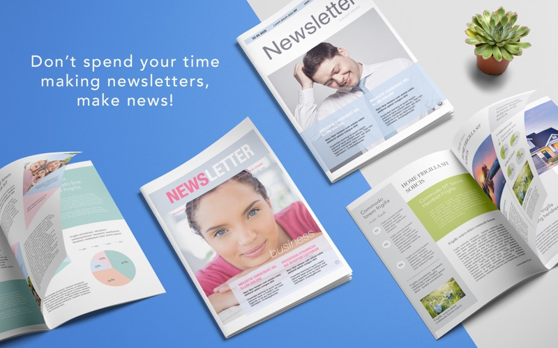 DesiGN Newsletters Templates Screenshot