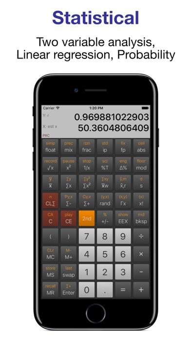 NeoCal Advanced Calculator Screenshots